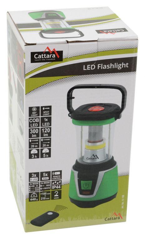 LED svítilna CAMPING REMOTE CONTROL