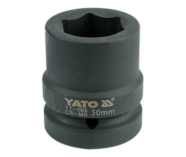 """Nástavec 1"""" rázový šestihranný 30 mm CrMo"""