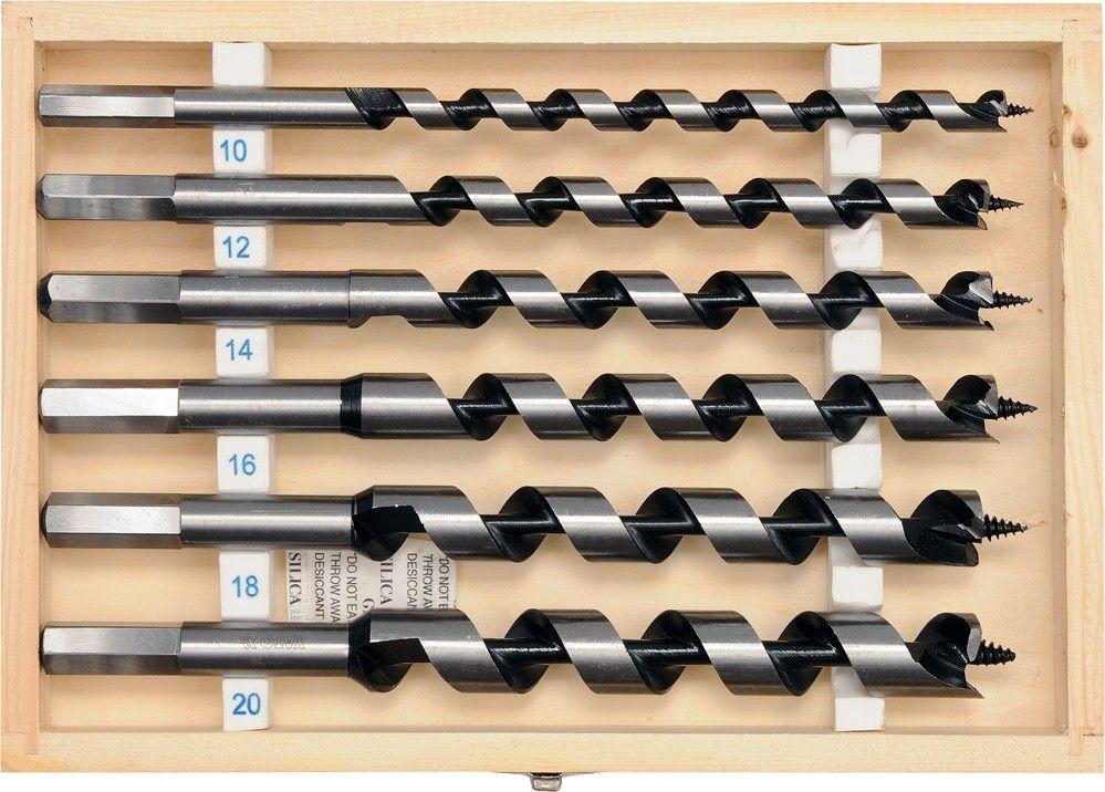 Sada hadovitých vrtáků do dřeva - 230 mm