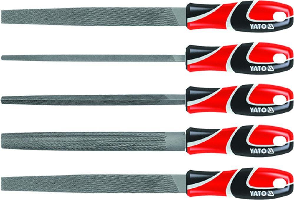 Cattara Sada pilníků zámečnických 250 mm 5 ks