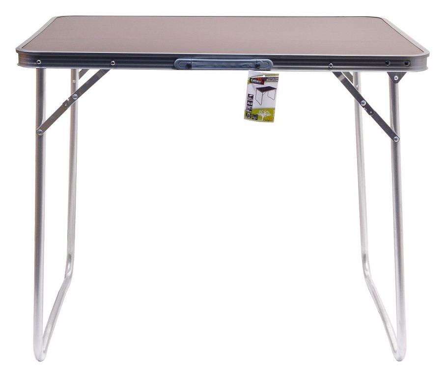 Stůl kempingový skládací BALATON hnědý