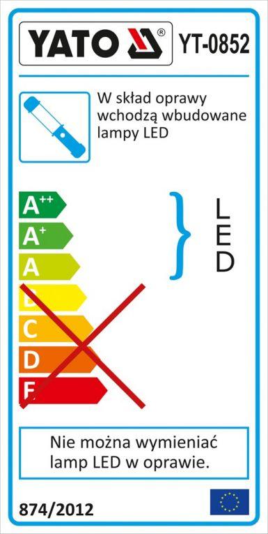Lampa montážní LED AKU nabíjecí