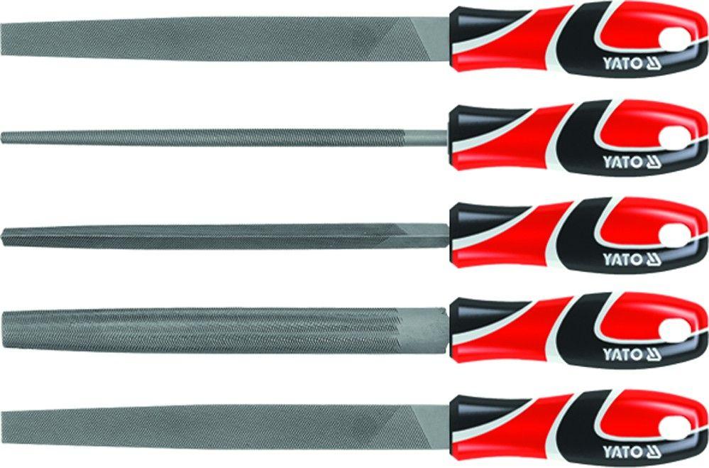 Sada pilníků zámečnických - 250 mm, 5 ks