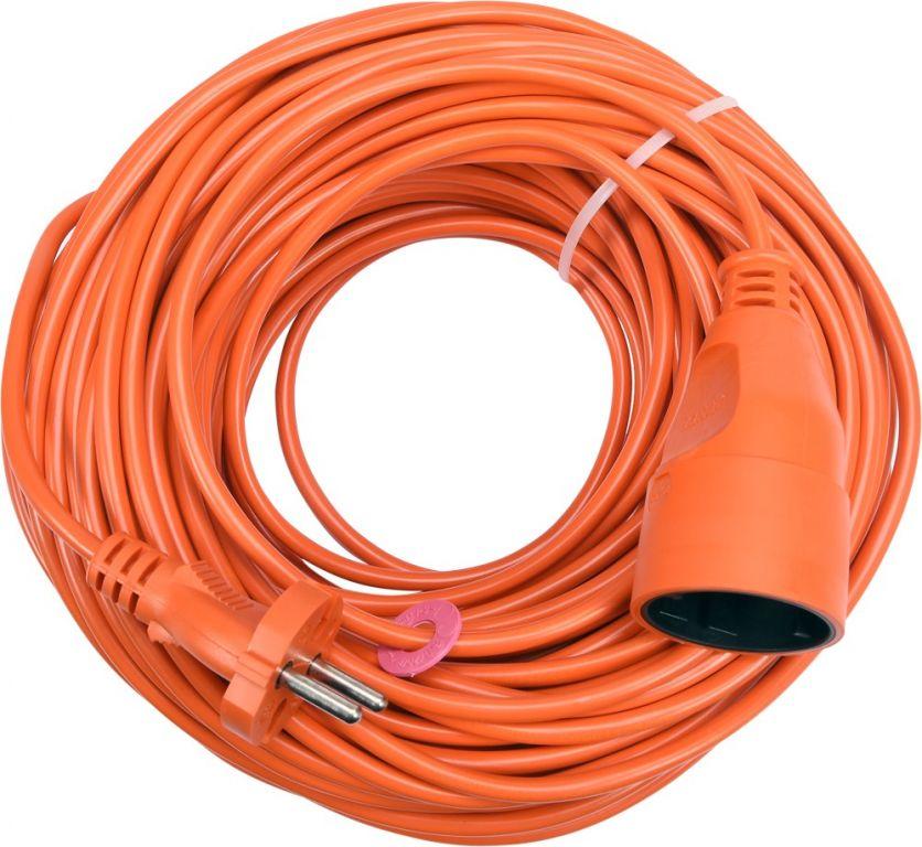 Kabel prodlužovací - 40 m, oranžový
