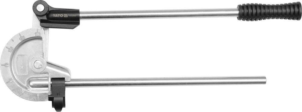 Yato Ohybačka na trubky Al, Cu, 180°, pr. 9/16' - 14mm | YT-21843