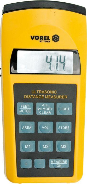 Ultrazvukový měřič vzdáleností do 15 m