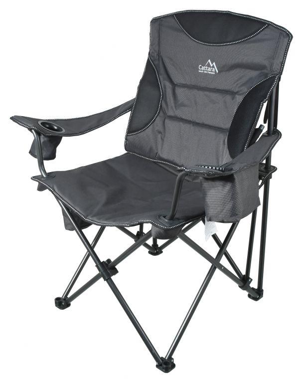 Kempingová skládací židle MERIT XXL – 101 cm