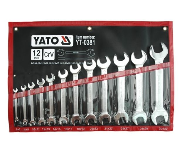 Sada klíčů plochých 6 - 32 mm