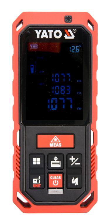 Laserový měřič vzdálenosti, 0.2 – 40 m