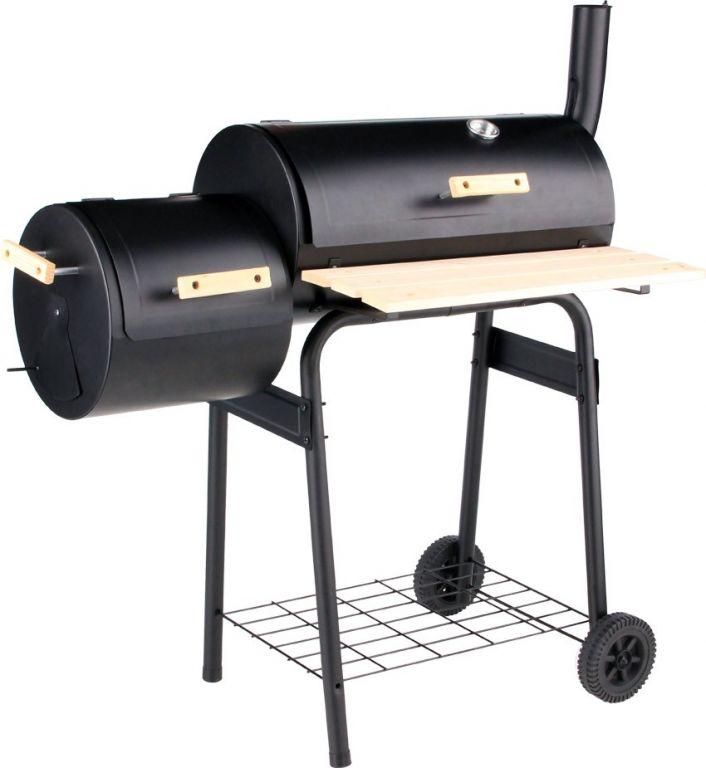Gril SMOKER na dřevěné uhlí