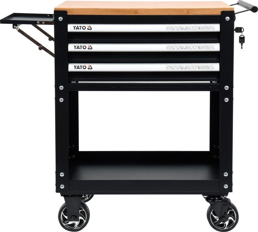 Pojízdná dílenská skříňka s nářadím - 3 zásuvky