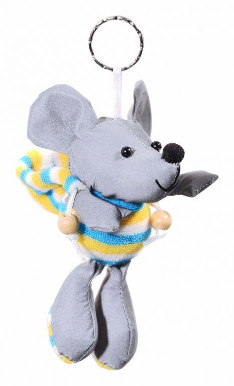 Přívěšek reflexní 3D - myš