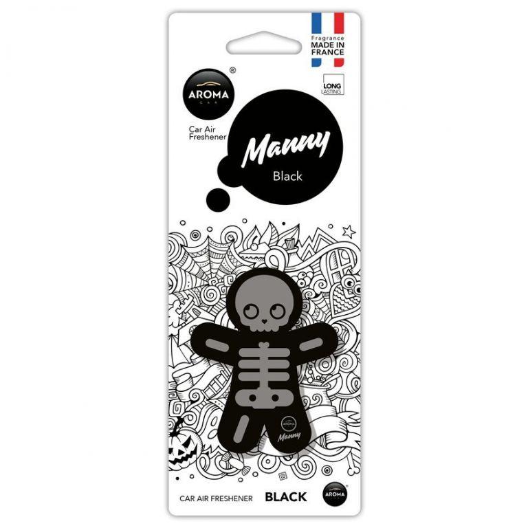 Osvěžovač Manny - Černá