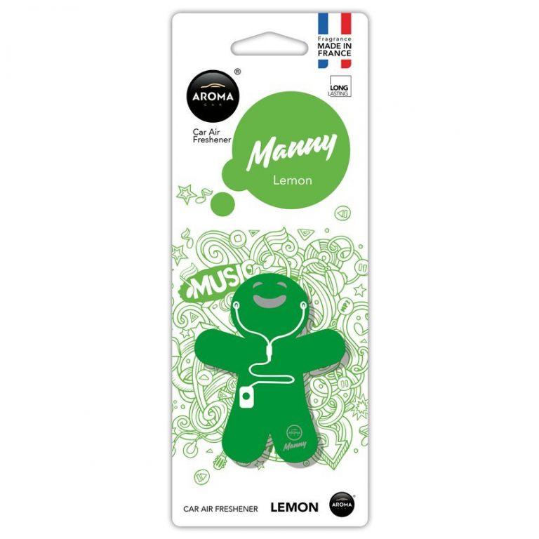 Osvěžovač Manny - Lemon