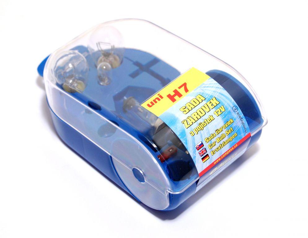 Univerzální servisní box se žárovkami - H7