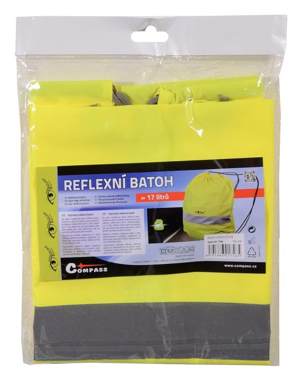 Batoh reflexní S.O.R. – žlutý