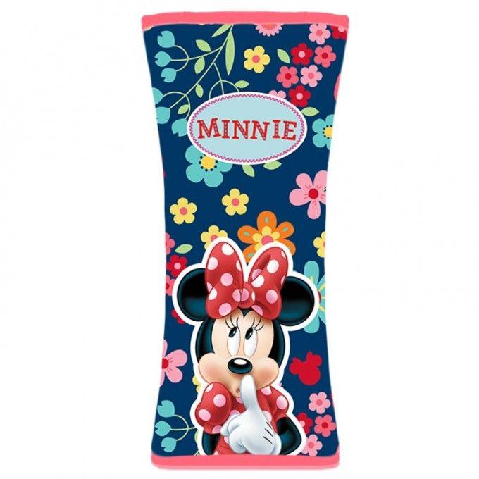 Návlek na bezpečnostní pás Minnie - 19 x 8 cm