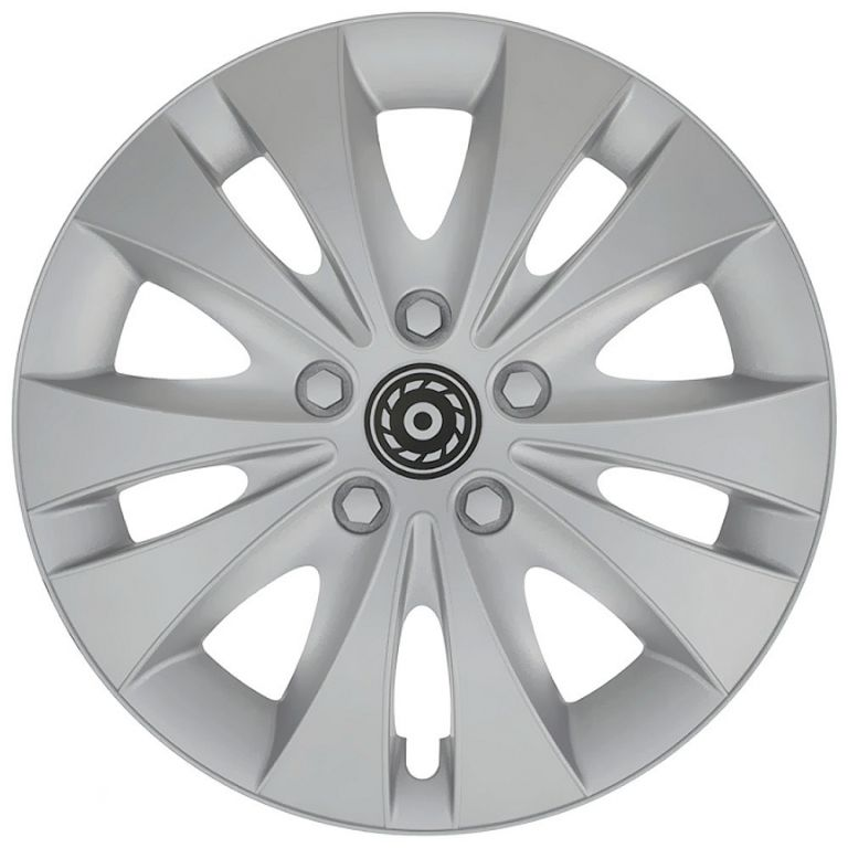 """Kryt kola CC24 15"""", jeden kus - stříbrná"""