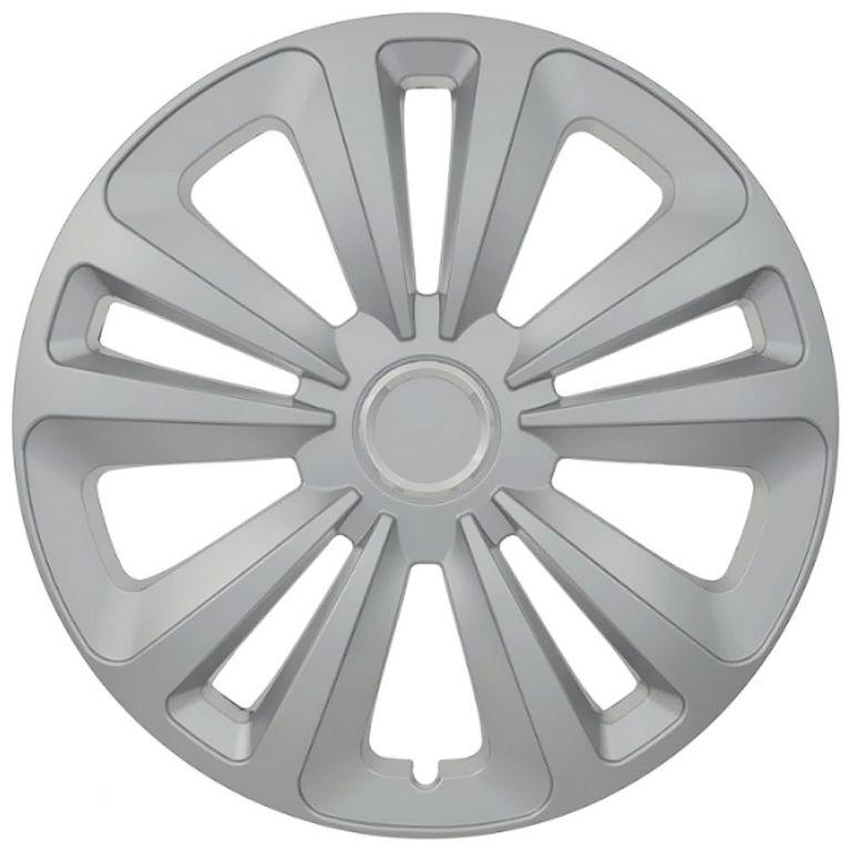 """Kryt kola Mig 16"""", jeden kus - stříbrná"""