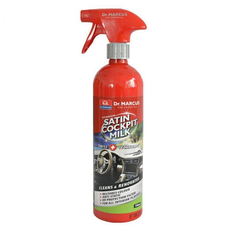 Čistič plastů Satin Cockpit Milk  - 750 ml