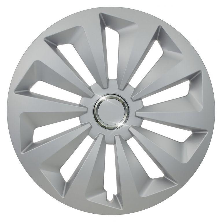 """Kryt kola Fox Ring 14"""", jeden kus - stříbrná"""