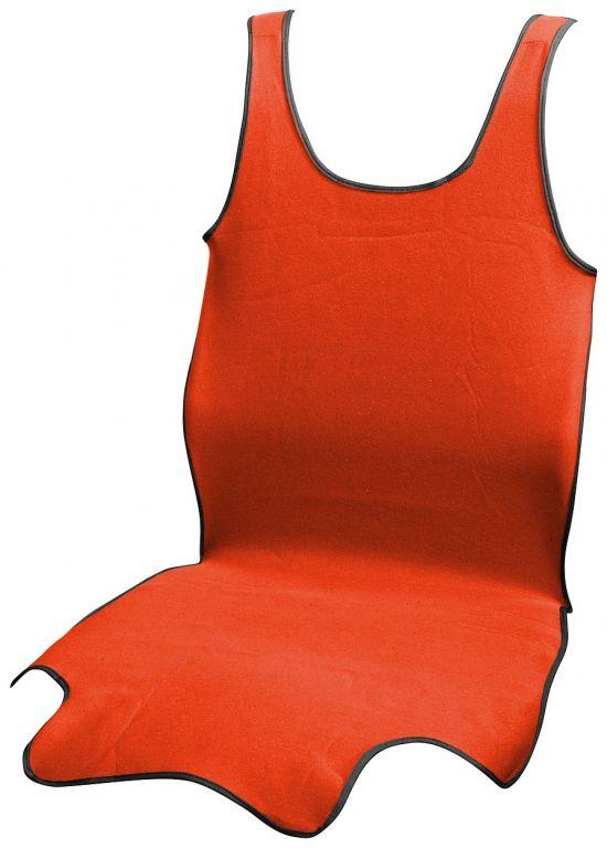 Potah sedadla TRIKO SOFT přední - 1 ks, červený