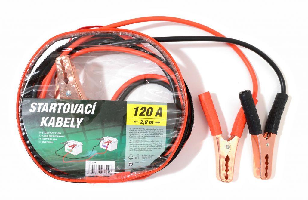 Startovací kabely zipper bag 120A -  200 cm