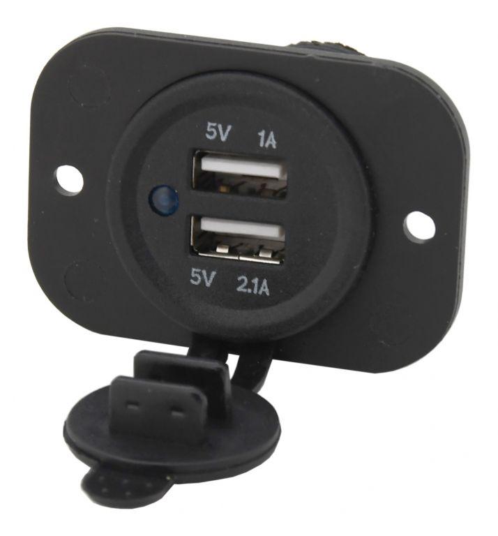Zásuvka - 2 x USB