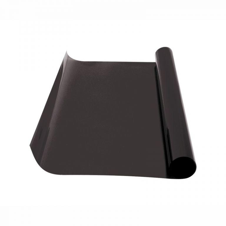 Folie protisluneční – 50×300 cm, dark black 15%