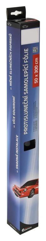 Folie protisluneční – 50×300 cm, medium black 25%