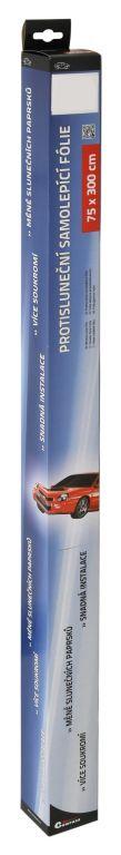 Folie protisluneční – 50×300 cm, silver