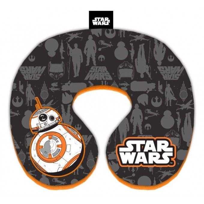 Polštářek okolo krku Star Wars - 21 cm