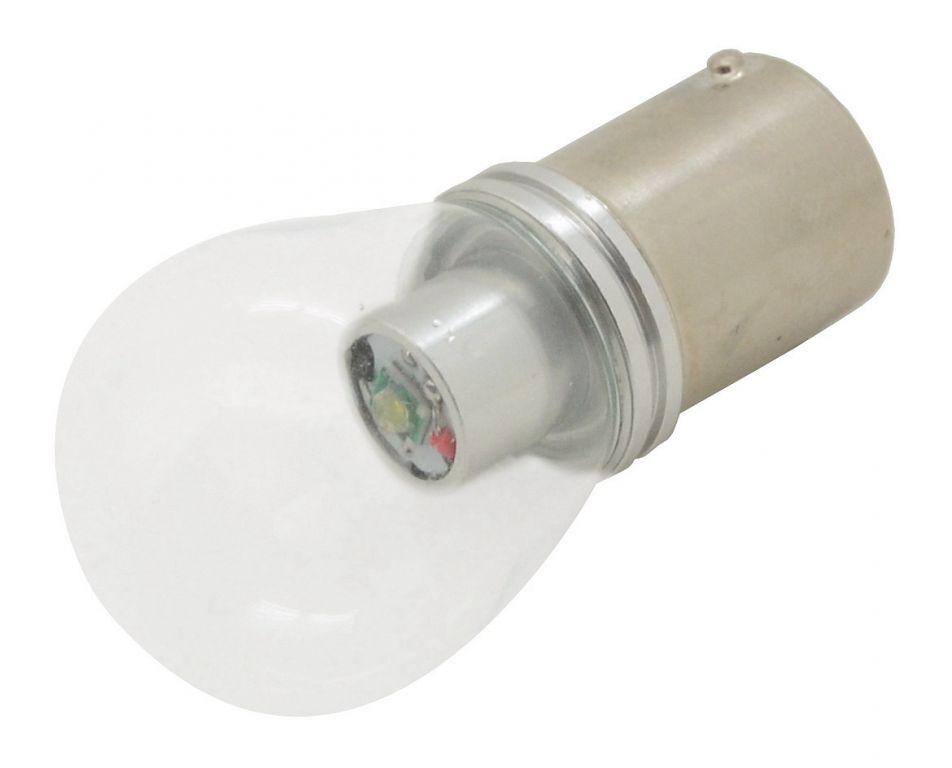 Žárovka SMD LED 6chips 12V, CAN-BUS ready bílá - 1ks