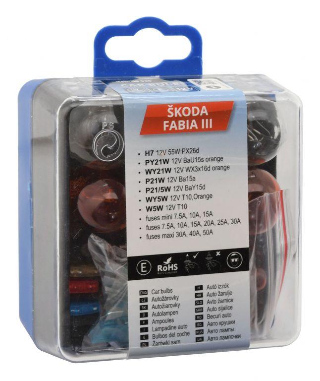 Servisní box se žárovkami ŠKODA FABIA III H7