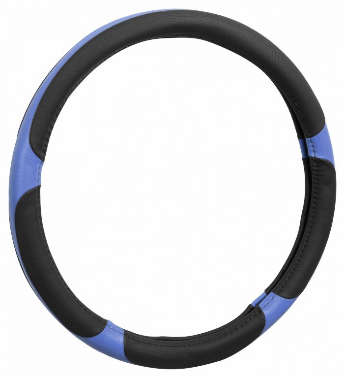 Potah volantu GRIP – modrý/černý