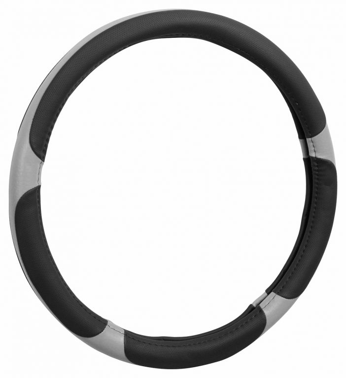 Potah volantu GRIP – šedý/černý
