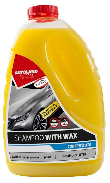 Autošampon s voskem - koncentrát 3L
