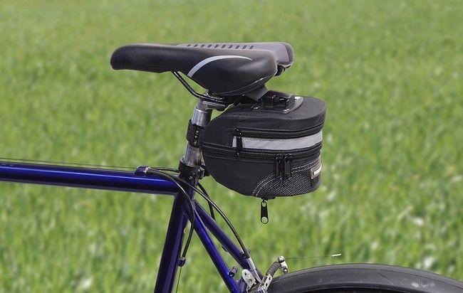 Cyklotaška pod sedlo s klipem – 10 x 13 x 17 cm