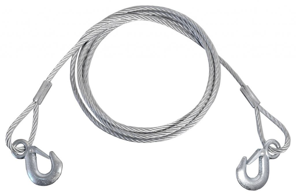 Vyprošťovací lano s karabinami - 5000 kg