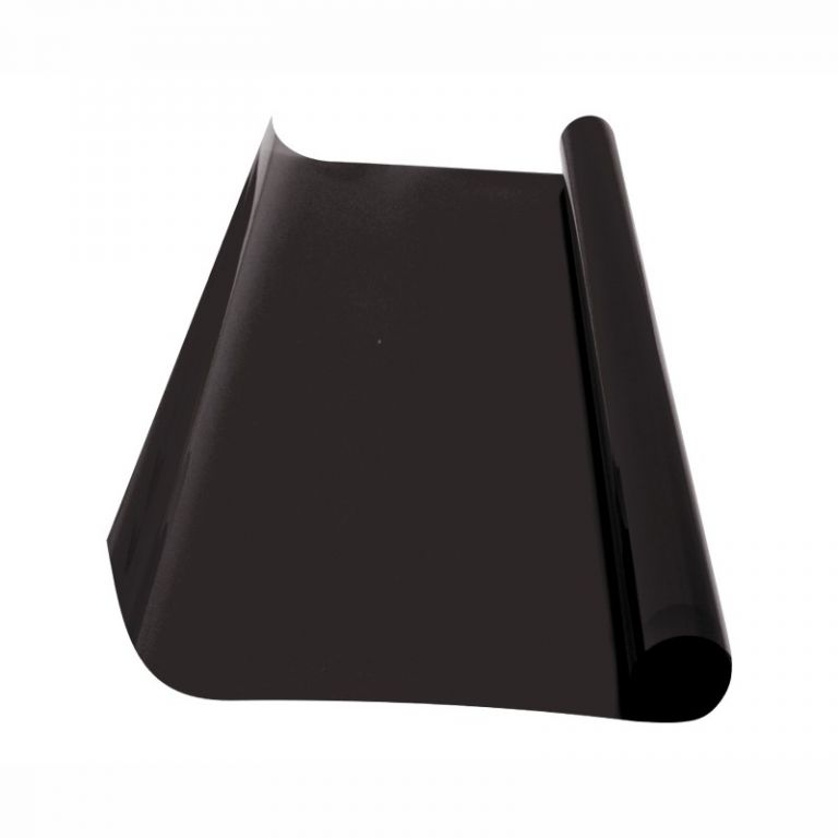 Folie protisluneční – 75×300 cm, super dark 5%