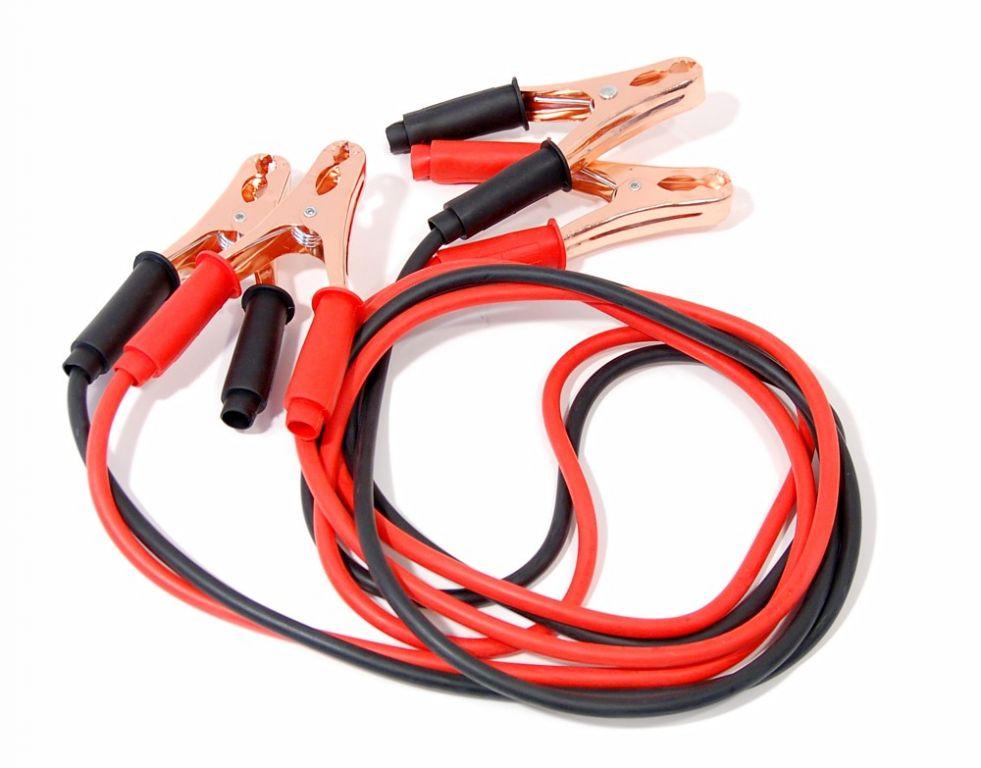Startovací kabely - 200A, 100% měď