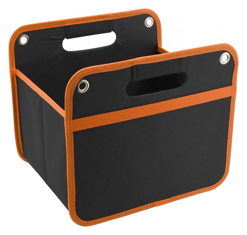 Organizér do kufru - 32 x 29 cm, černý/oranžový