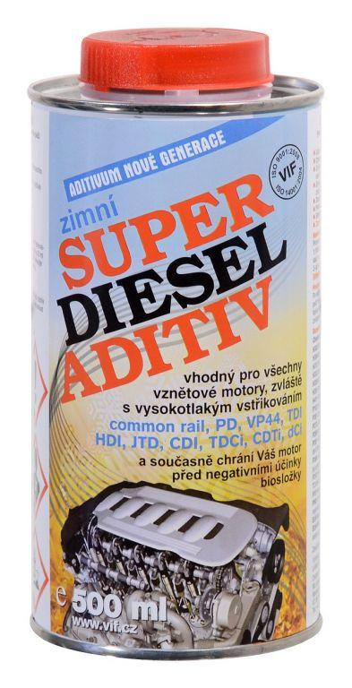 Aditivum do nafty VIF (zimní) - 500 ml