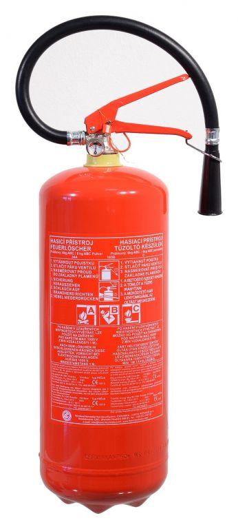 COMPASS 01536 Hasicí přístroj práškový 6 kg ABC (34A)