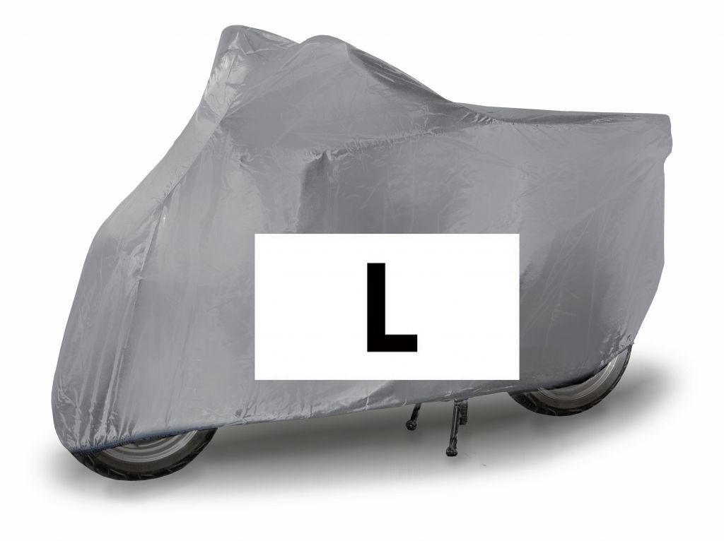 Ochranná plachta na motocykl L - 232 x 100 x 125 cm