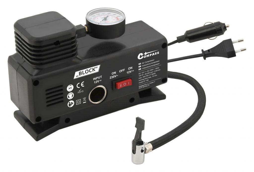 Kompresor 12/230 V