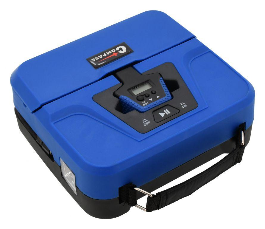 Digitální kompresor 12 V - 3v1