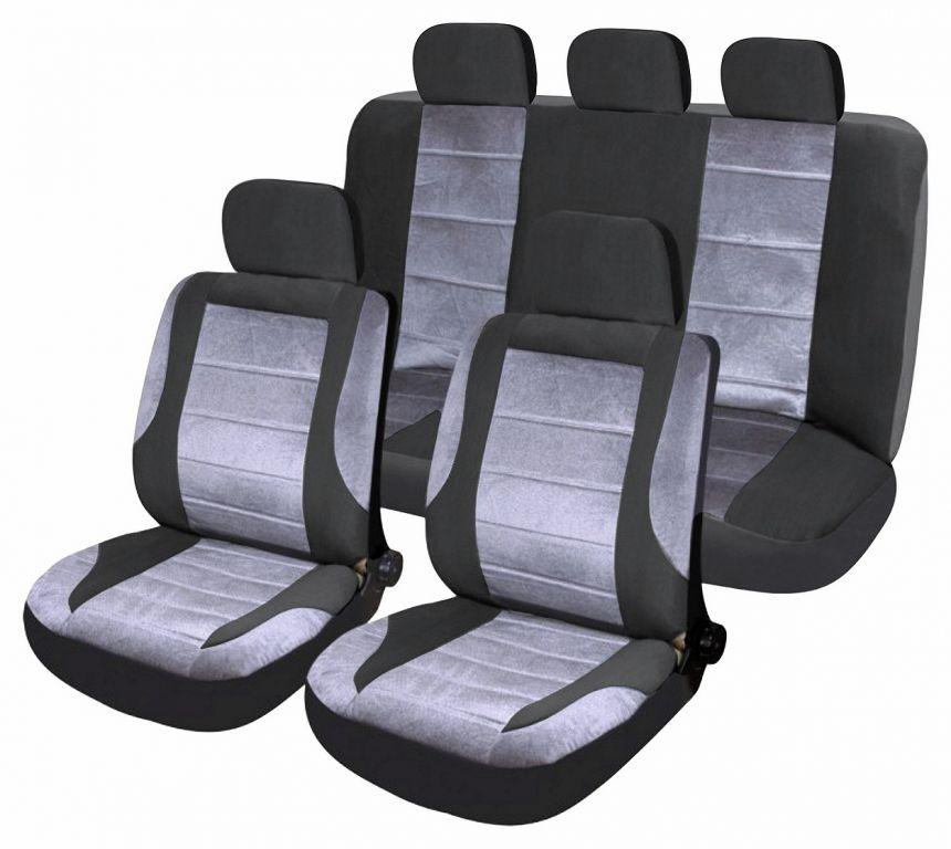 Potahy sedadel Deluxe Airbag, sada 9 ks