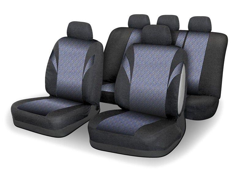 Potahy sedadel POLY - 9 ks, barevné