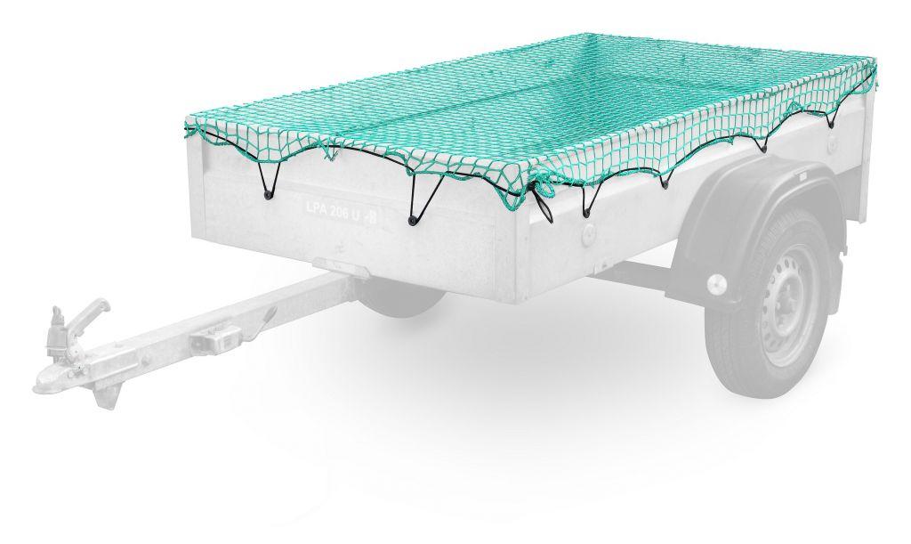 Síť na přívěsný vozík - 1,5 x 2,2 m
